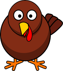 cartoon turkeys clip art