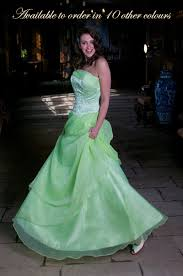 blue green prom dress
