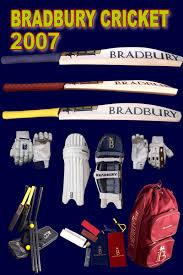 bradbury cricket bat