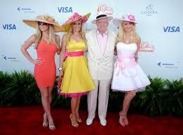 kentucky derby millionaires row
