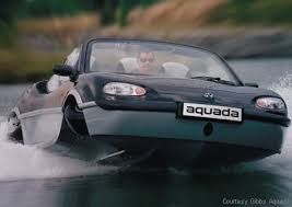 car that goes on water