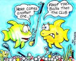 humorous golf