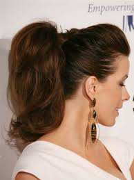 hair style ponytail