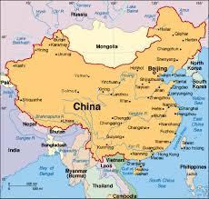 paises del continente asiatico
