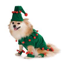 pet christmas costume