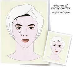 wax eyebrows