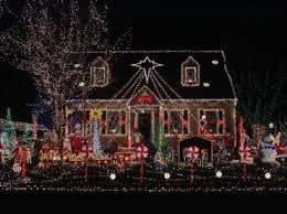 houses at christmas