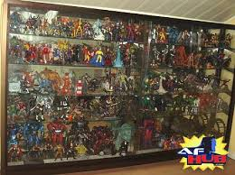 action figure collector