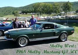 1968 shelby mustang gt