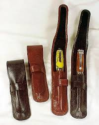 leather pen holster