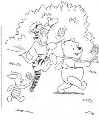 disney easter colouring pages