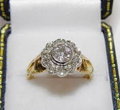 edwardian diamond rings