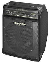 behringer ultrabass bxl3000 300w 1x15 bass combo