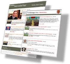 online newsletter examples