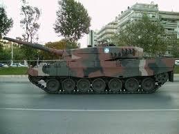 leopard battle tank
