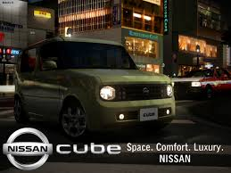 nissan cube ad