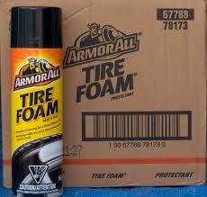 armor all tire foam