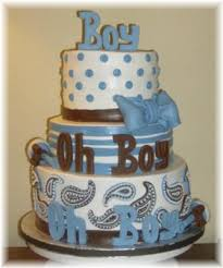 baby boy shower cake pictures
