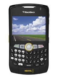 nextel black berry