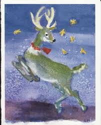 christmas reindeer picture