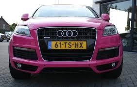 audi a3 pink