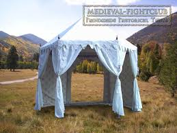 hexagonal tents