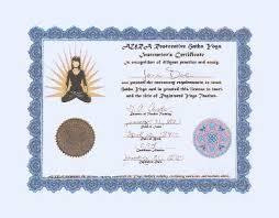 yoga diploma
