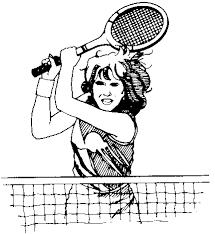 free tennis clipart