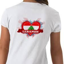 lebanon t shirts