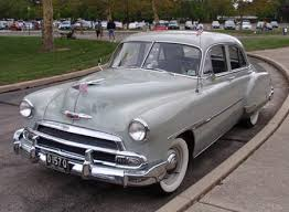 1951 chevy cars