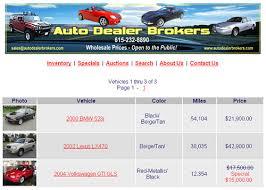 auto inventory
