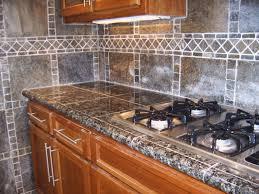 granite tile kitchen