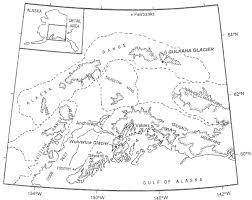 map of south central alaska