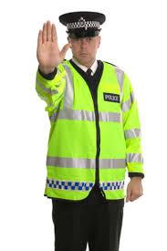 policeman traffic