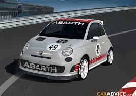 fiat 500 racing