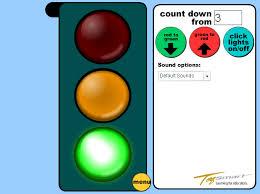 traffic lights timer