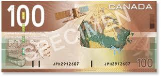$100 canadian