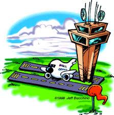 cartoon airports