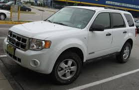 ford escape white