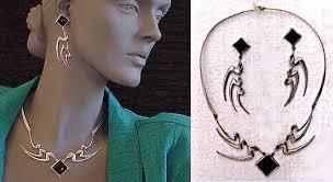 swan necklaces