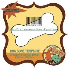 dog bone template