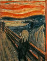 famous paintings the scream