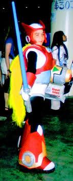 megaman zero costume