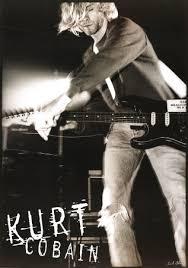 posters of kurt cobain