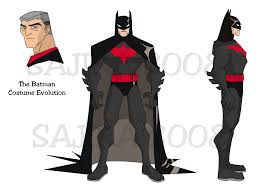 batman suit design