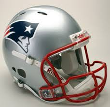 new england patriot helmets