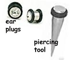 gauging earrings