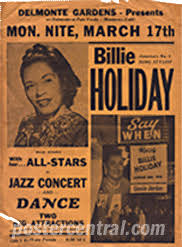 billie holiday posters
