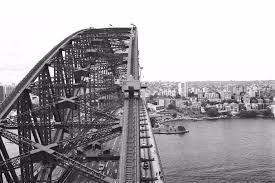 harbour bridge construction