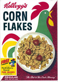 corn flakes boxes
